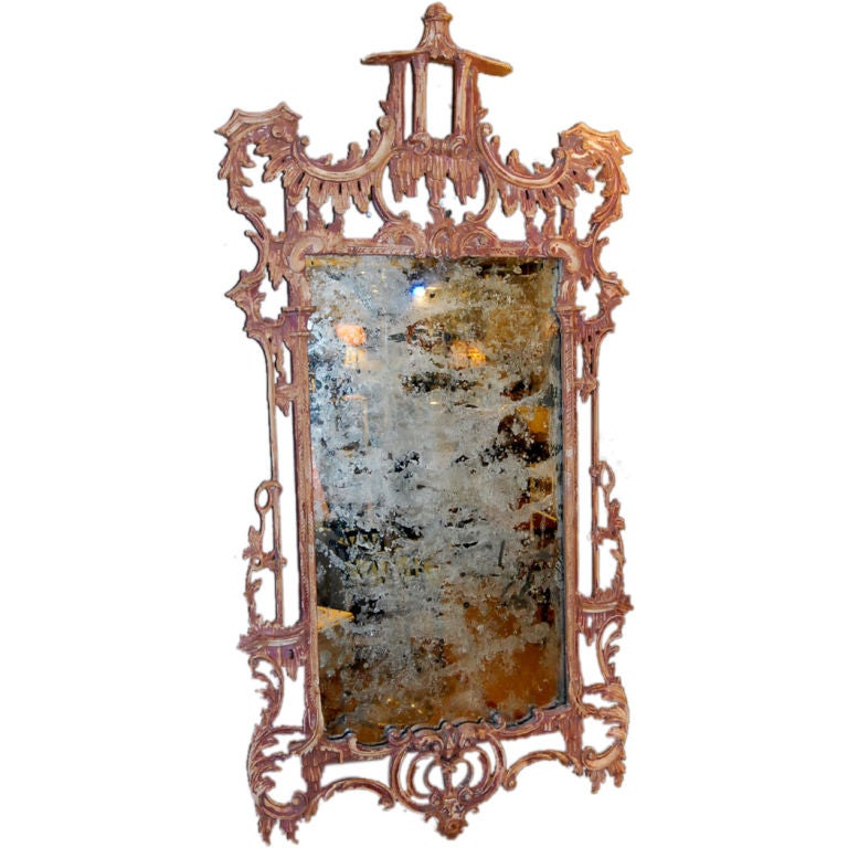1940 39 s chinese chippendale style italian mirror at 1stdibs for Asian style mirror
