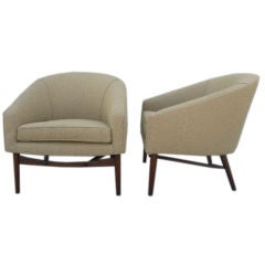Pair of Bergere  by Jens Risom
