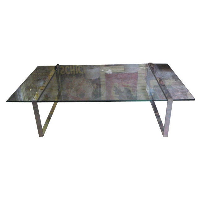 72 long coffee table by charles hollis jones at 1stdibs for Coffee table 72 inch