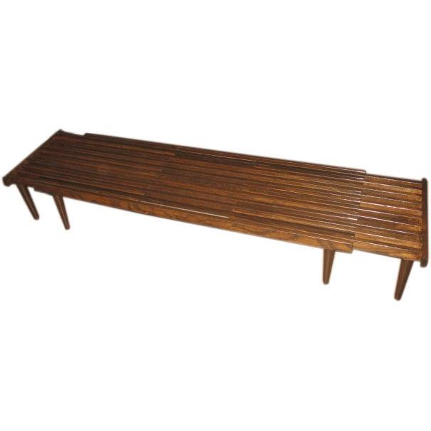 Slatt Extendable Coffee Table At 1stdibs