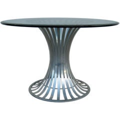 Aluminum Tulip Dining table by Russell Woodard