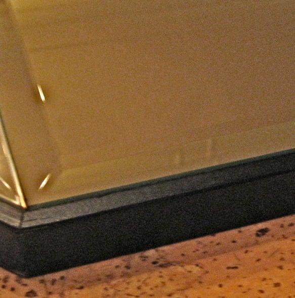 American Large Octagonal Pinwheel Pattern Mirror For Sale