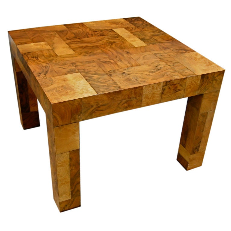 Parsons Style Coffee Table By Paul Evans For Directional At 1stdibs