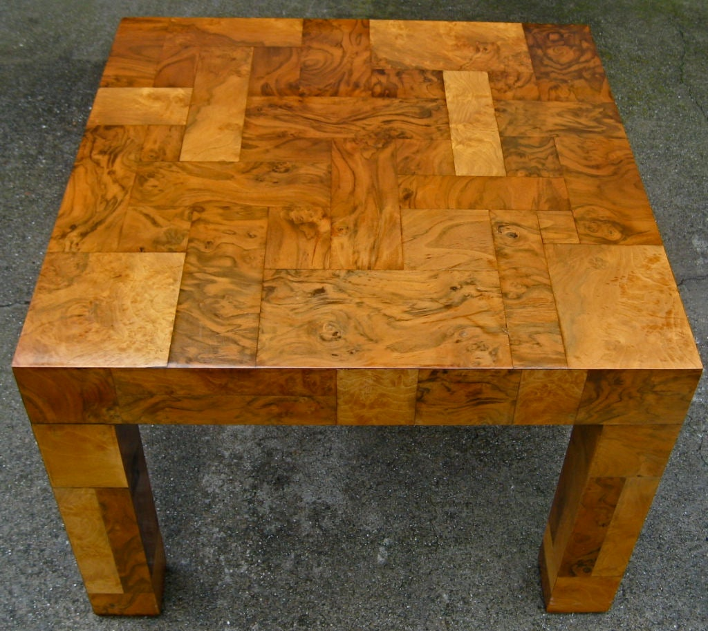 Parsons Style Coffee Table by Paul Evans for Directional image 2