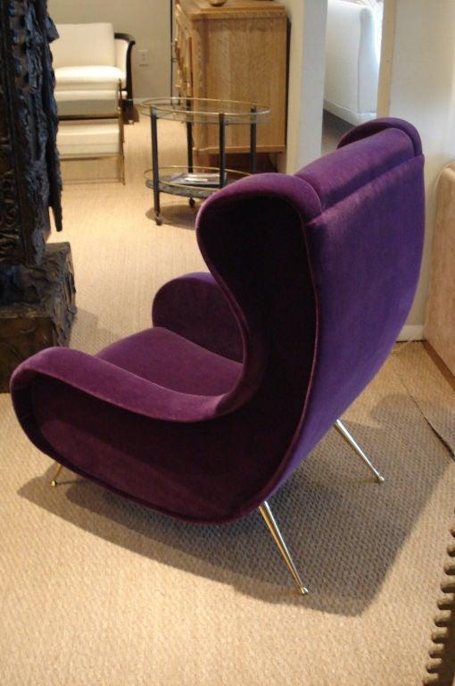 Superb Italian 1950's Lounge Chair. 1