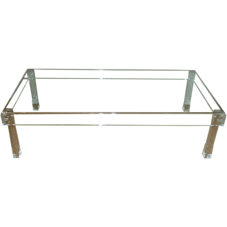 Lucite Coffee Table Lookup Beforebuying