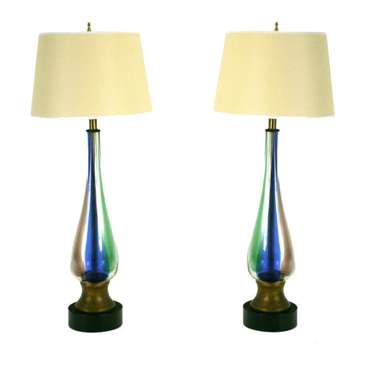murano colored handblown glass table lamps is no longer available. Black Bedroom Furniture Sets. Home Design Ideas