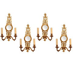 French Empire Style Sconces