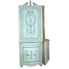 Pair Of Classical Style Corner Cabinets