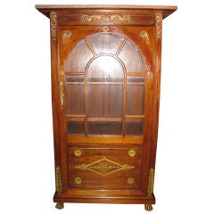 Antique French Empire Vitrine