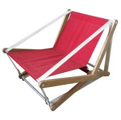 Prototype Henry Glass Folding Chair