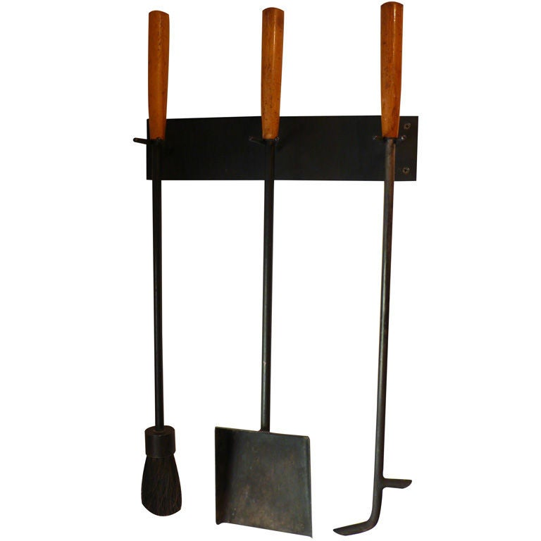George Nelson Fireplace Tools at 1stdibs