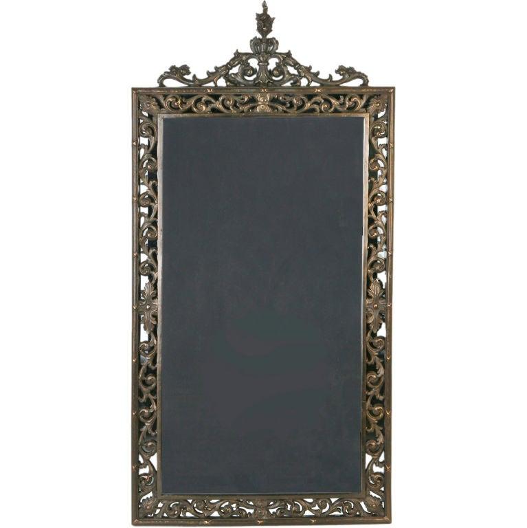 An Antique Bronze Arabesque Mirror At 1stdibs