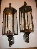 Set of 4 Large Outdoor Lanterns