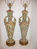 Pair of Large Modernist Table Lamps