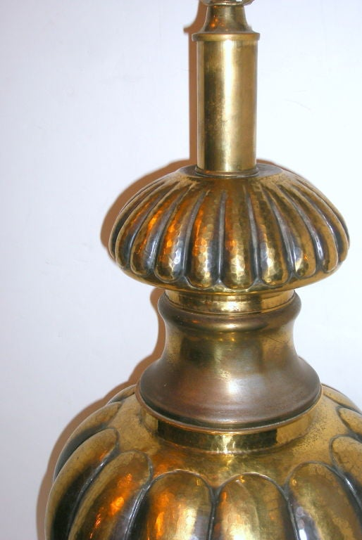 Large Brass Table Lamp For Sale At 1stdibs