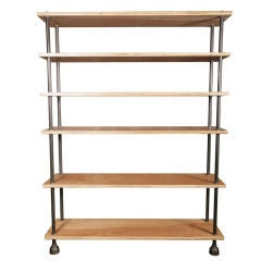 Shelving Unit, Storage Rack, Bookcase Industrial