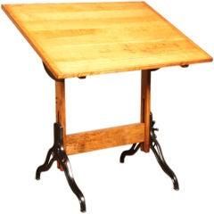 Vintage Hamilton Adjustable Drafting Table