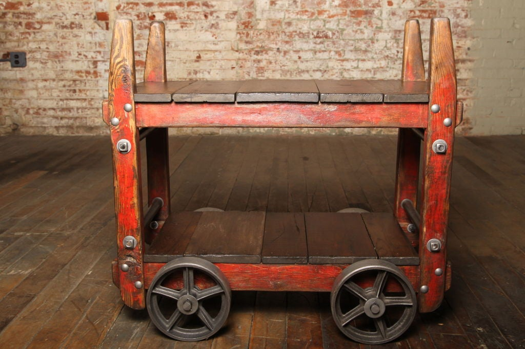 industrial steel bar cart images