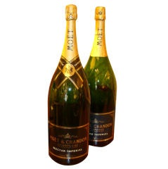 Massive Moet & Chandon Champagne Bottles Mathusalem