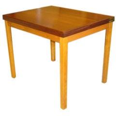 Swedish Modern  Flip Top Side/Tea Table