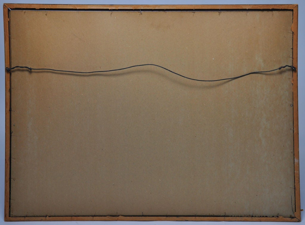 Mid-20th Century John Alcorn Lithograph Pin A Tail For Sale