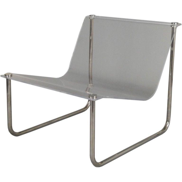 Hollis jones sling chair at 1stdibs