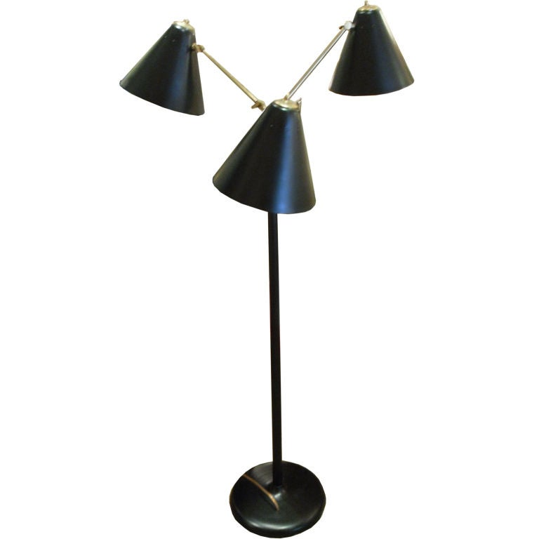 this modern black and bronze standing floor lamp is no longer. Black Bedroom Furniture Sets. Home Design Ideas