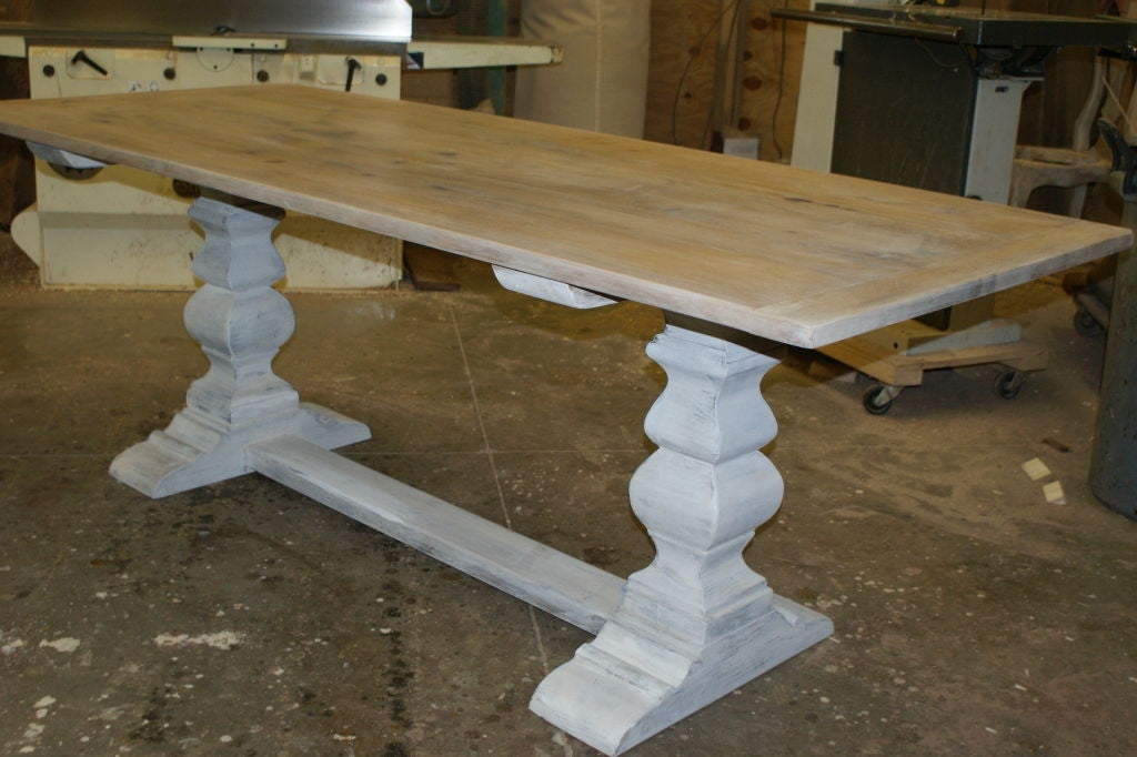Rustic Farm Table At 1stdibs