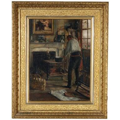 """""""Artist Studio"""" by George W Piggot"""