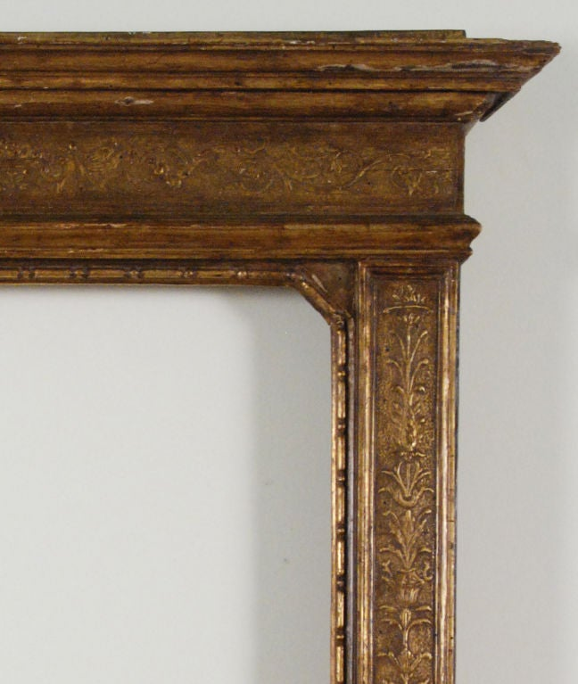 A 16th Century Style Renaissance Giltwood Frame Florence