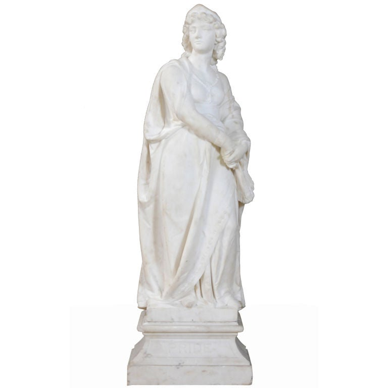 """A Classical Figure of a Woman"" by  Joseph Durham For Sale"