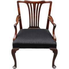 English Period Chippendale Armchair