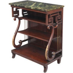 English Late Regency Pier or Console Table