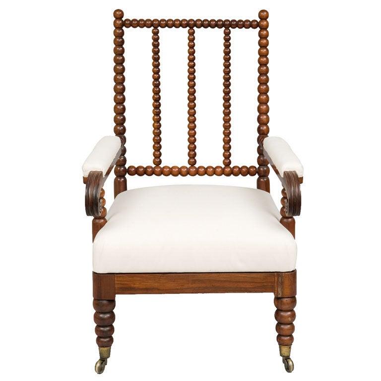 scottish rosewood bobbin chair at 1stdibs