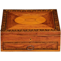 English Regency Ladies Toilet Box