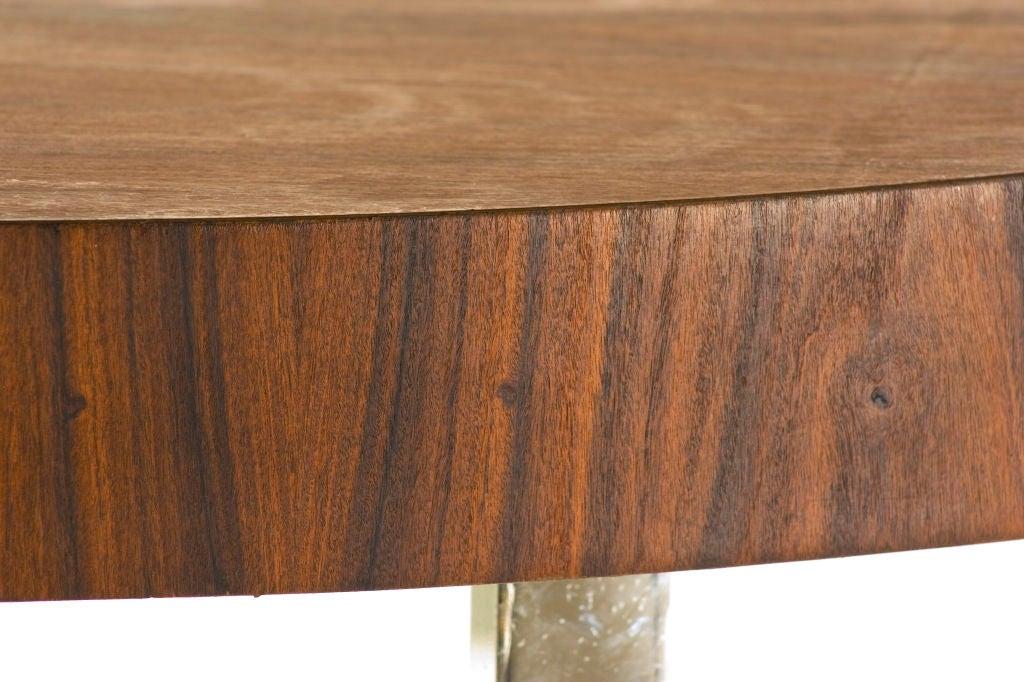Custom Rosewood Modernist Coffee Table At 1stdibs