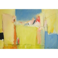 abstract noted artist Victor Mirabelli titled Playland