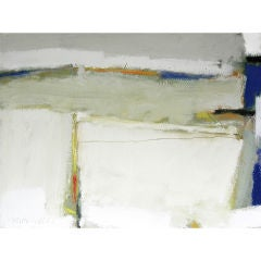 Abstract Mixed Media on canvas by noted artist Victor Mirabelli