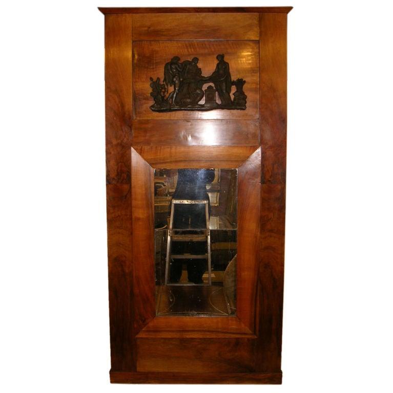 19th Century Northern European Neoclassical Style Pier Mirror