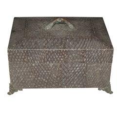 Maitland-Smith Shark Skin Cigar Box