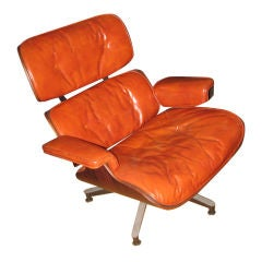 1950s Rosewood Lounge Chair 670 by Charles and Ray Eames