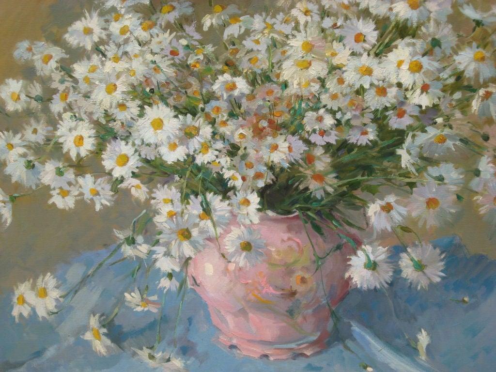 Daisies Paintings Oil