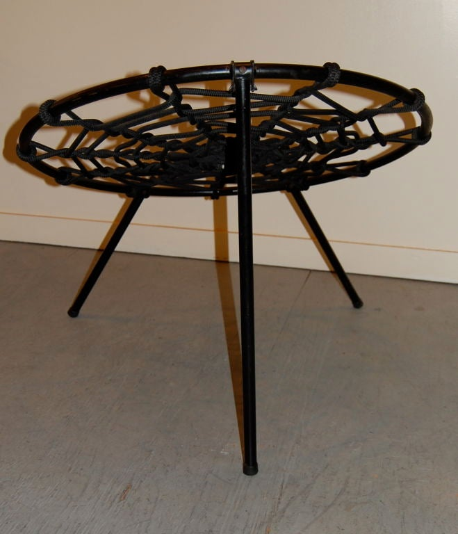 Spider Web Folding Chairs By Hoffer At 1stdibs