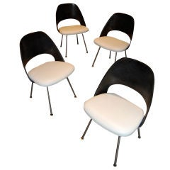 Early Eero Saarinen Fiberglass Chairs
