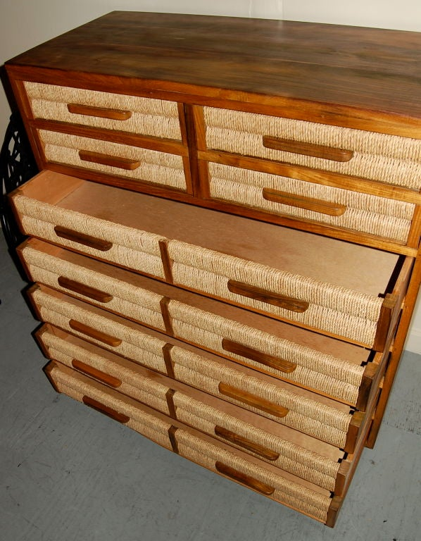 Exotic Woods Dresser At 1stdibs
