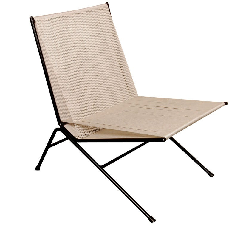 Allan Gould String Lounge Chair At 1stdibs