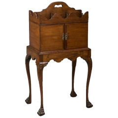 George II Mahogany Cellarette