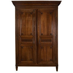 louis xvi mahogany armoire bordelaise antique mahogany armoire