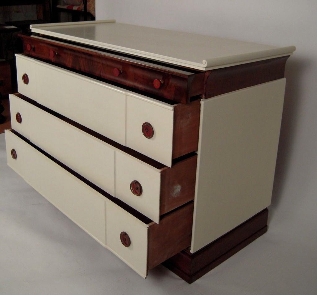 1930s CHINOISERIE CHEST OF DRAWERS For Sale 1